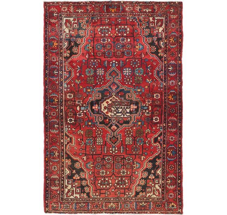 4' 4 x 6' 9 Tuiserkan Persian Rug