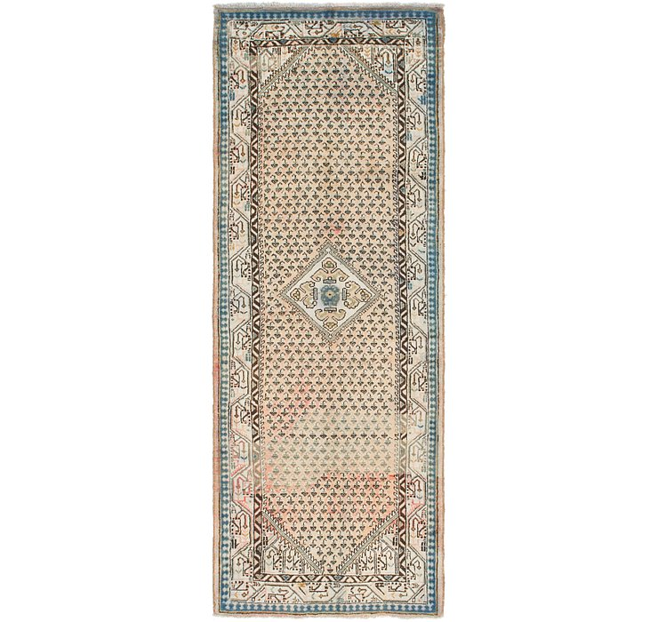 3' 8 x 10' 3 Botemir Persian Runner ...