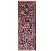Link to 3' 6 x 10' 3 Mahal Persian Runner Rug