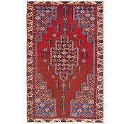 Link to 127cm x 205cm Mazlaghan Persian Rug
