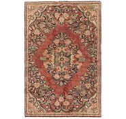 Link to 3' 6 x 5' 7 Sarough Persian Rug