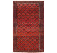 Link to 3' 4 x 6' Balouch Persian Rug