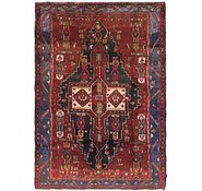 Link to 4' 7 x 6' 7 Sirjan Persian Rug