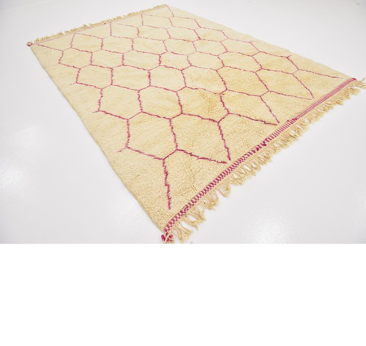 7' 3 x 9' 7 Moroccan Rug
