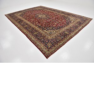 Link to 9' 5 x 13' Kashan Persian Rug item page