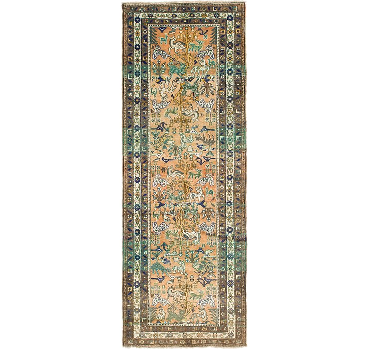 3' 8 x 10' 2 Hamedan Persian Runner ...