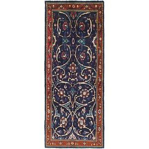 HandKnotted 4' x 10' 4 Mahal Persian Runner Rug