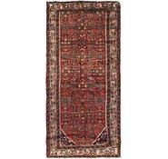 Link to 107cm x 213cm Hossainabad Persian Rug