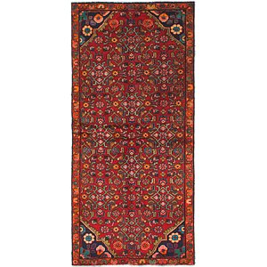 Link to 3' x 6' 5 Hossainabad Persian Ru... item page