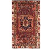 Link to 3' 5 x 6' Hamedan Persian Runner Rug