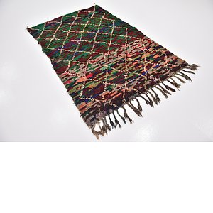 4' 7 x 6' 8 Moroccan Rug
