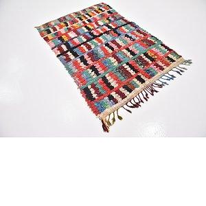 Unique Loom 4' x 6' Moroccan Rug