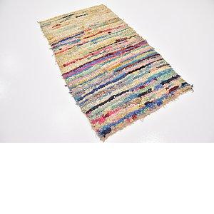 Unique Loom 3' 6 x 6' 2 Moroccan Rug