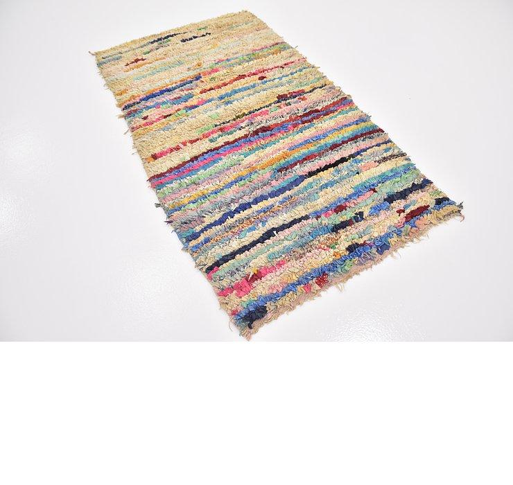 3' 6 x 6' 2 Moroccan Rug
