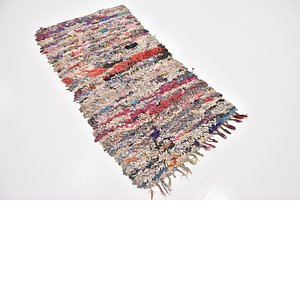 Link to 90cm x 188cm Moroccan Runner Rug item page