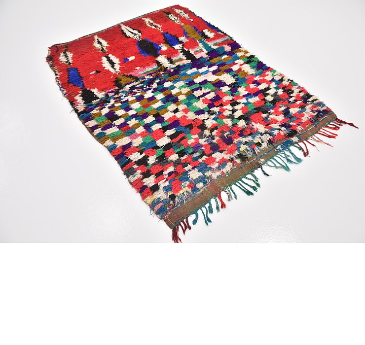 HandKnotted 4' 9 x 6' 3 Moroccan Rug