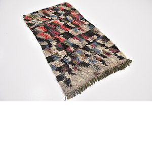 HandKnotted 3' x 5' 8 Moroccan Rug