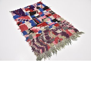 HandKnotted 3' 3 x 4' 10 Moroccan Rug