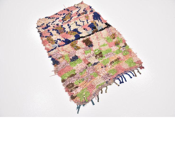 2' 9 x 4' Moroccan Rug