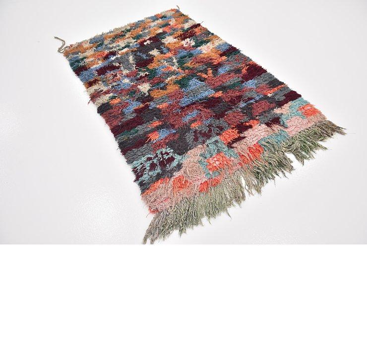 3' 7 x 5' Moroccan Rug