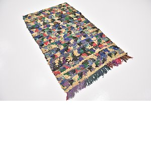 HandKnotted 3' 8 x 6' 4 Moroccan Rug