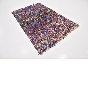 HandKnotted 4' 2 x 6' 2 Moroccan Rug