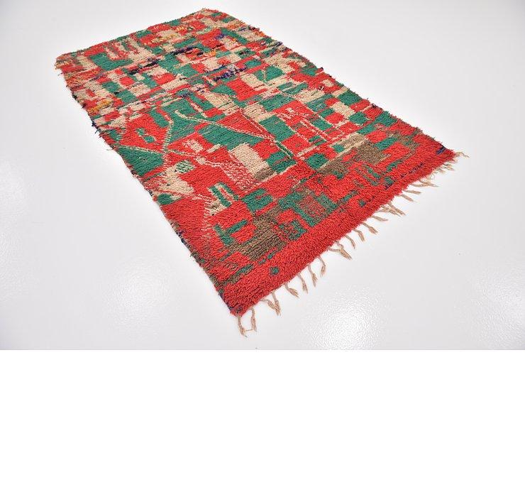 4' 5 x 7' 7 Moroccan Rug