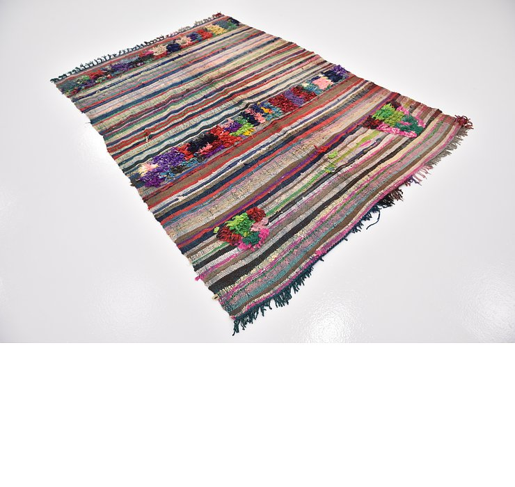HandKnotted 5' 4 x 7' 4 Moroccan Rug