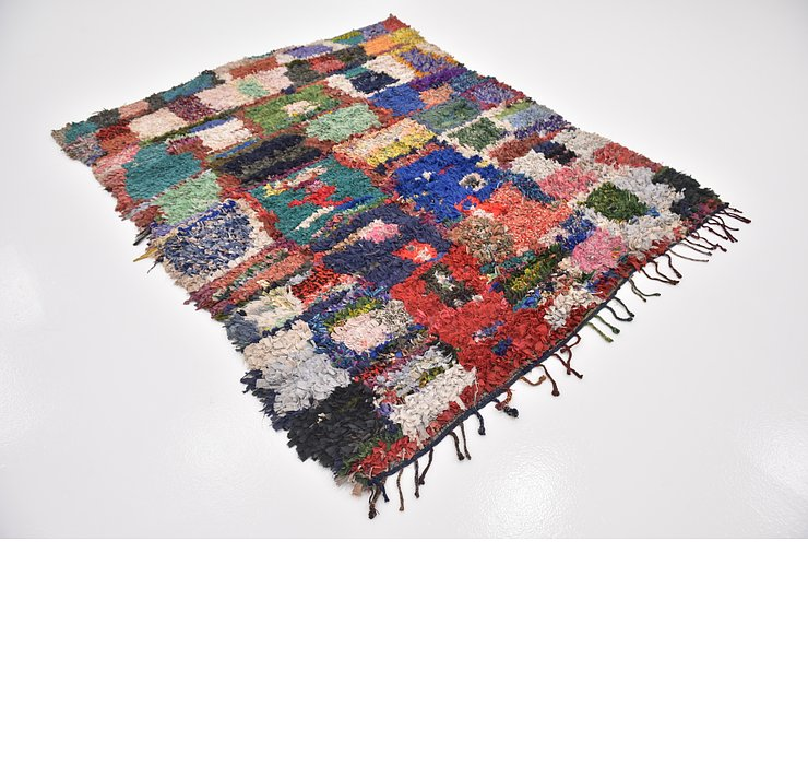 HandKnotted 5' 7 x 7' 4 Moroccan Rug