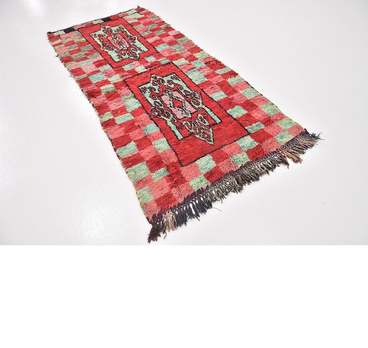 HandKnotted 3' 6 x 7' 4 Moroccan Rug
