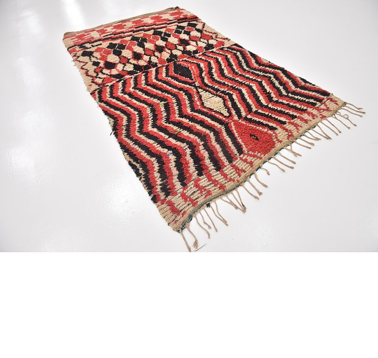 HandKnotted 5' 2 x 9' 3 Moroccan Rug