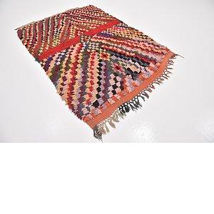 4' 6 x 6' 4 Moroccan Rug