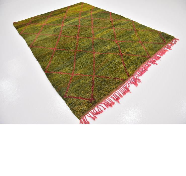 7' 4 x 9' 10 Moroccan Rug