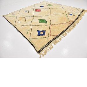 10' 5 x 10' 7 Moroccan Square Rug