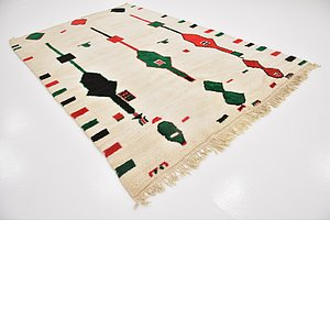 HandKnotted 6' 10 x 10' Moroccan Rug