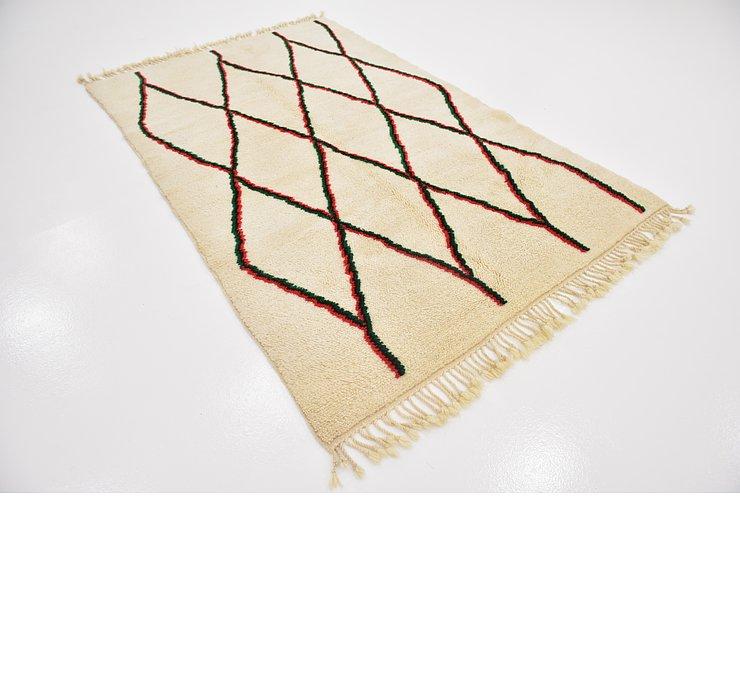 5' 2 x 8' 6 Moroccan Rug