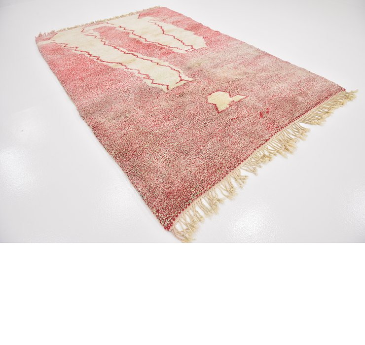 HandKnotted 6' 9 x 10' Moroccan Rug
