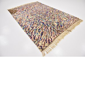 6' 8 x 10' 2 Moroccan Rug