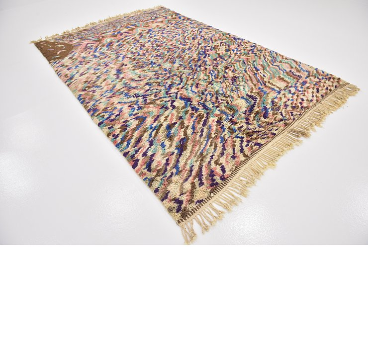 HandKnotted 6' 8 x 10' 2 Moroccan Rug