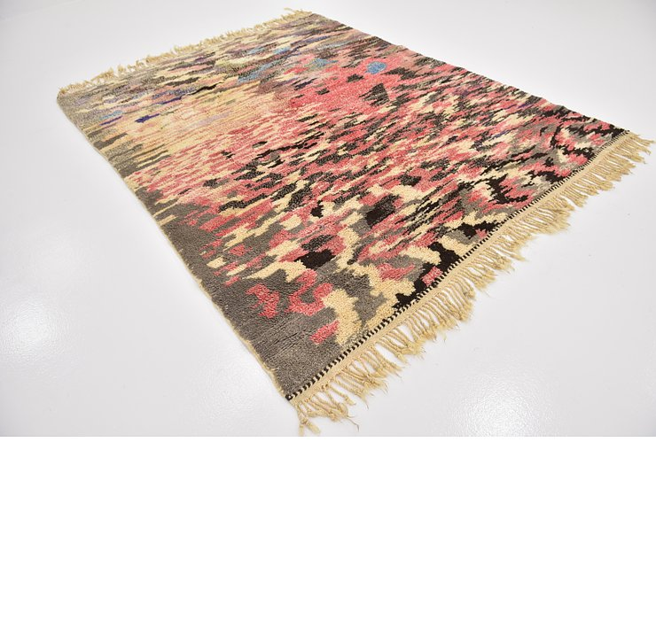 HandKnotted 6' 8 x 8' 4 Moroccan Rug