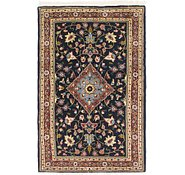 Link to 3' 2 x 4' 10 Qom Persian Rug