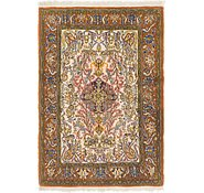 Link to 3' 7 x 5' 2 Qom Persian Rug