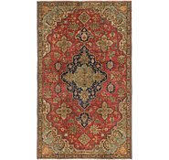 Link to 4' 6 x 7' 8 Tabriz Persian Rug