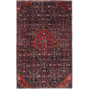 Link to 122cm x 183cm Hossainabad Persian Rug item page