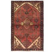 Link to 3' 8 x 5' 8 Hamedan Persian Rug