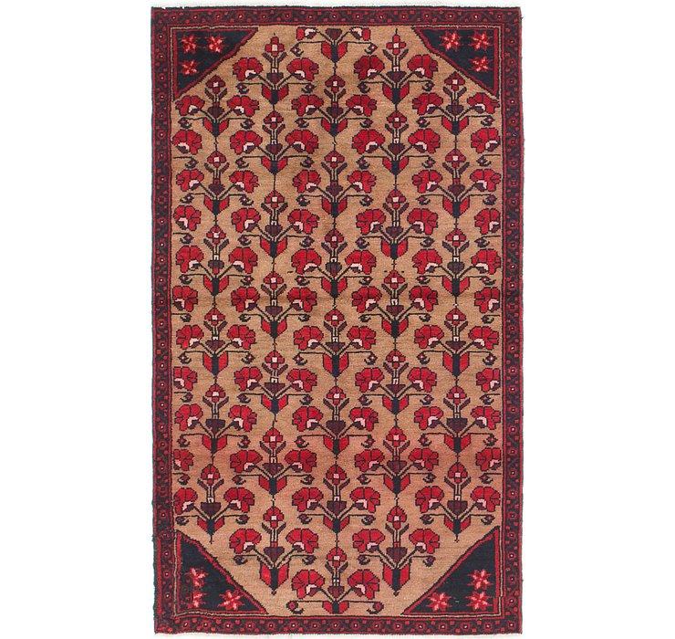 107cm x 183cm Balouch Persian Rug