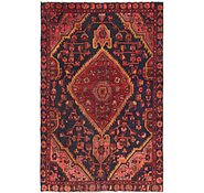 Link to 4' 6 x 6' 10 Hamedan Persian Rug
