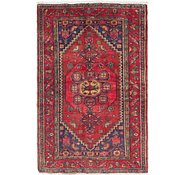 Link to 4' 3 x 6' 9 Hamedan Persian Rug