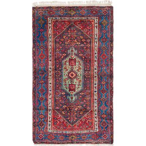 Link to 130cm x 225cm Zanjan Persian Rug item page