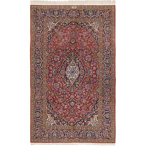 4' 7 x 7' 6 Kashan Persian Rug